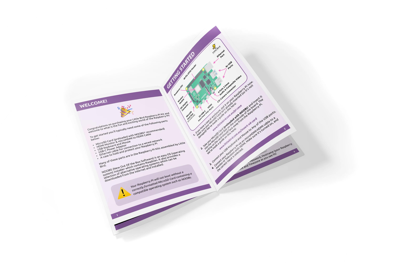 Raspberry Pi 4 Quick Start Booklet Australia