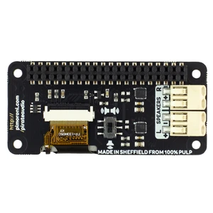 A product image of Pirate Audio: 3W Stereo Amp for Raspberry Pi