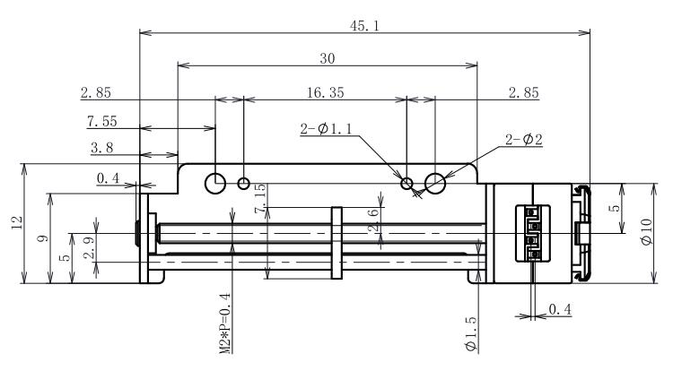 18° Micro Stepper Motor
