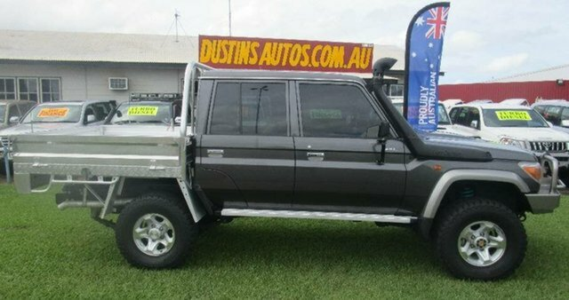 2013 Toyota Landcruiser Dual Cab Chassis