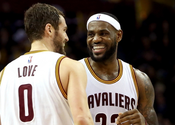 691fc3a0da11 Report  LeBron James Was Frustrated With an Out-of-Shape Kevin Love Last  Season