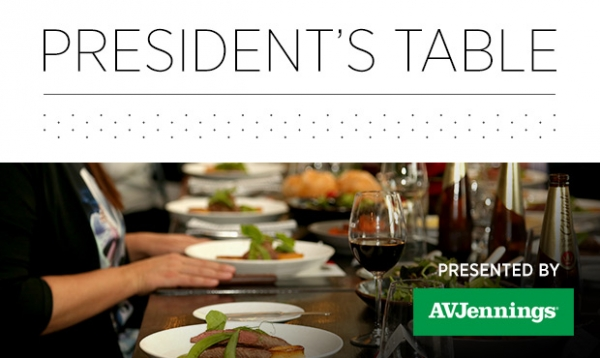 New President's Table - Corporate Hospitality