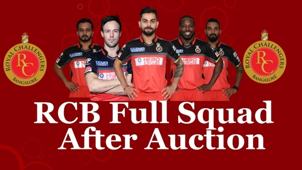 IPL – ROYAL CHALLENGERS BANGALORE – PLAYERS LIST AND PLAYING ROLES!