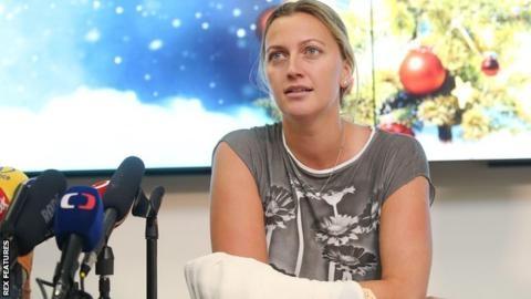 Petra Kvitova: No 'concrete date' set for return after knife attack