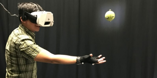 VR motion tracking narrows the gap between real and digital