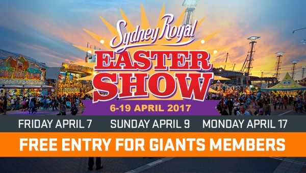 Free Entry to the Easter Show