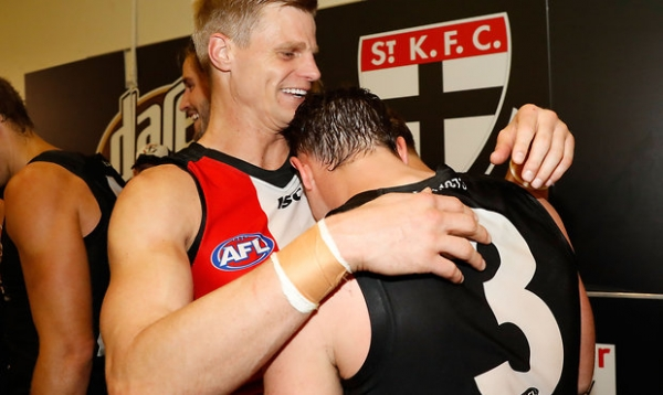 Riewoldt and Steven feature in Robinson's top 50