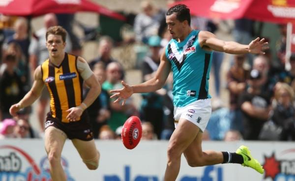 Port Adelaide skipper Travis Boak predicts bright future for 'special' WA draftee Sam Powell-Pepper