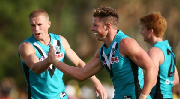 Port Adelaide upgrade two rookies to senior list