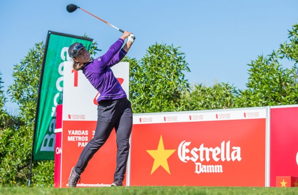 Nuria posts clubhouse lead on day two in Spain