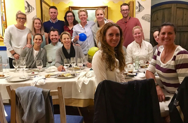 European Solheim Cup Team Dinner
