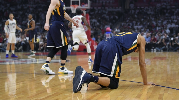 Rudy Gobert out for Jazz-Clippers Game 3