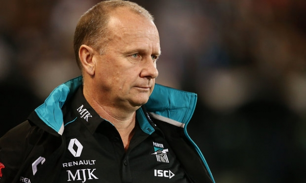 One change for Port, Blues lose two