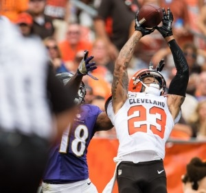 Haden's decline might lead the Browns to lean CB in the draft