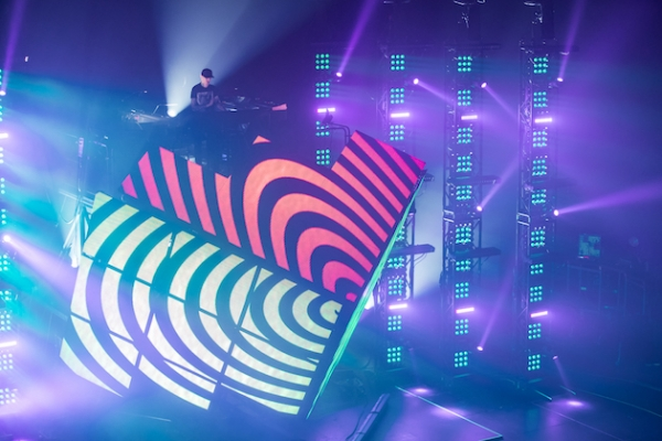Check out these amazing photos of Deadmau5's Cube 2.1 live show