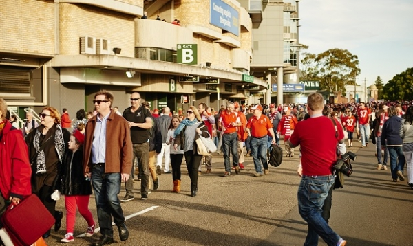 Could you be the 8 millionth fan to the SCG?