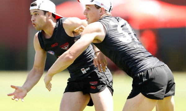 Anzac Day debut looms for Bombers rookie