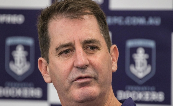 Fremantle coach Ross Lyon warns his players against complacency ahead of Anzac Day clash with winless North Melbourne
