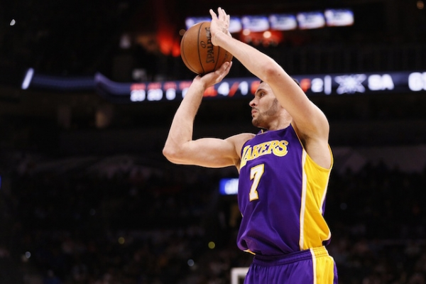 Lakers News: Ivica Zubac, Larry Nance Jr. Competing To Improve Three-Point Shot