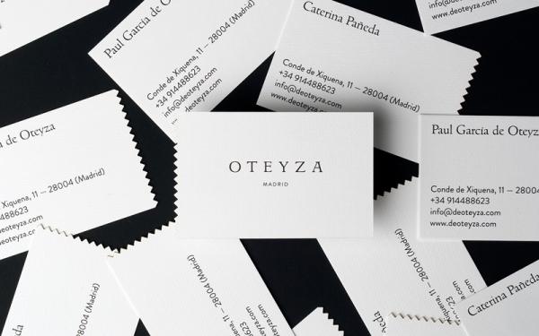 Oteyza Business Cards