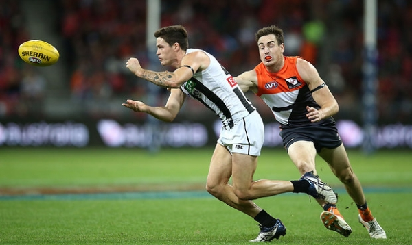 Giants' forward pressure wasn't 'up to standard'