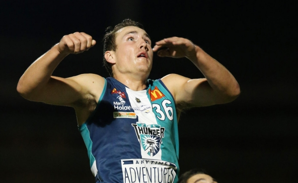 Freo Swingman Brennan Cox feels at home in defence