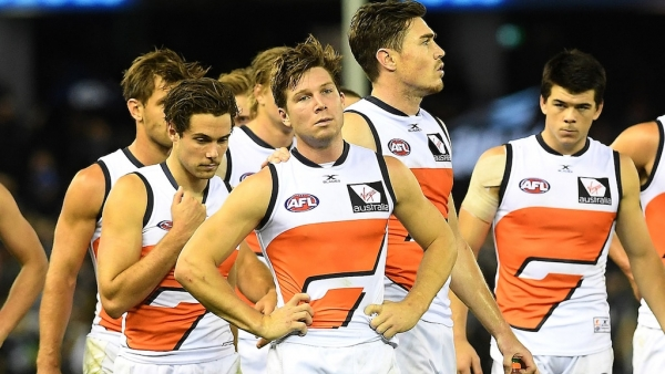 AFL Giants' injury cloud starting to clear