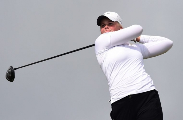 Anna Backman climbs onto the PING Junior Solheim Cup ranking table