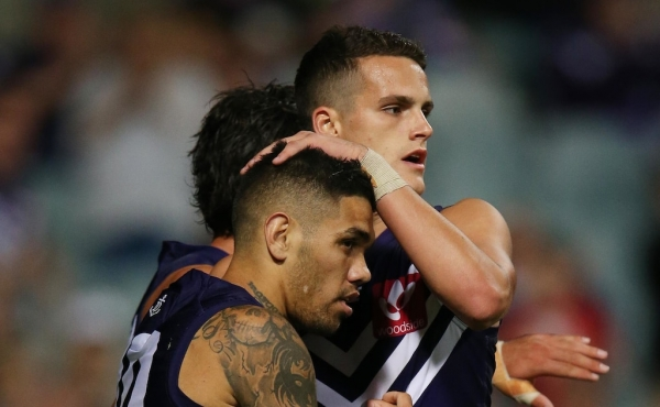 Harley Balic back on deck at the Dockers