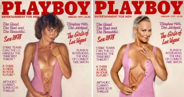 7 Playboy models recreate their cover photos from 30 years ago