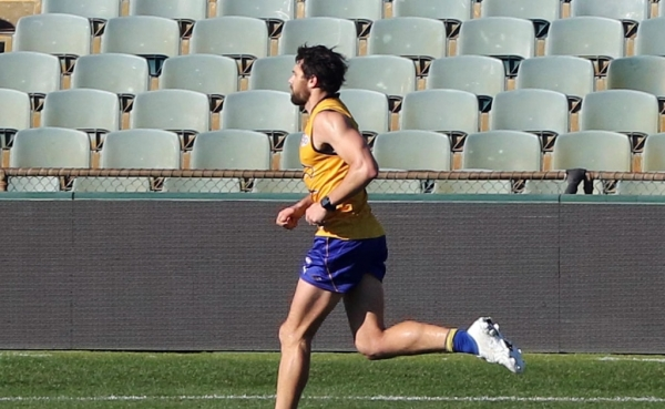 West Coast Eagles spearhead Josh Kennedy touch-and-go for return against Demons