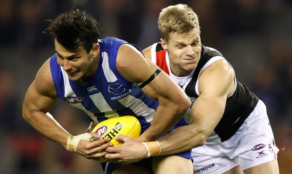 Riewoldt fined for striking
