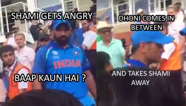 VIDEO: A Pakistan Cricket Fan Insulted Team India And This Made Mohammed Shami Very Angry