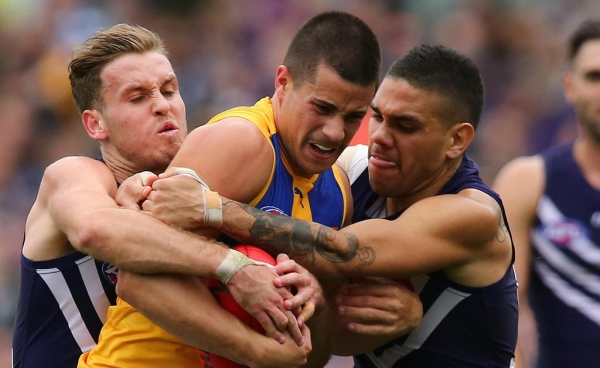 West Coast skipper Shannon Hurn the unanimous Glendinning Medal choice