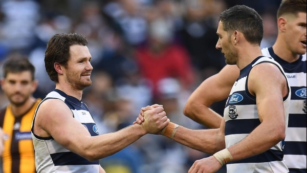 Dangerfield laughes off AFL injury barb