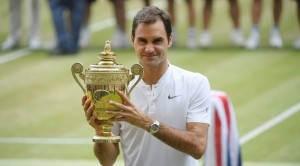 Roger Federer Wins His 8th Wimbledon, Garbiñe Muguruza Her First – Mondays with Bob Greene