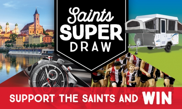 Saints Super Draw 2017 - NOW OPEN