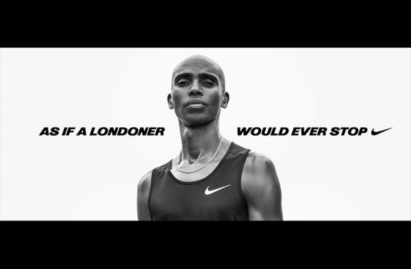 Photographer Jamie Morgan captures Mo Farah's portrait for final race with Nike