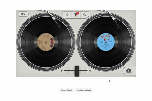 The Google homepage is teaching you how to DJ