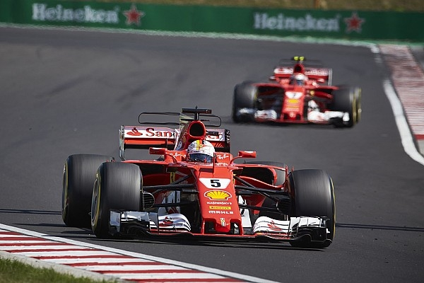 "Vettel: Rivals copying Ferrari F1 designs ""a good sign"""