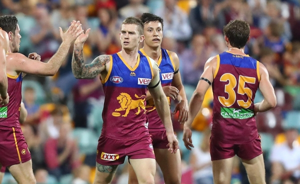 Brisbane Lions defeat Gold Coast by 58 points in QClash at the Gabba