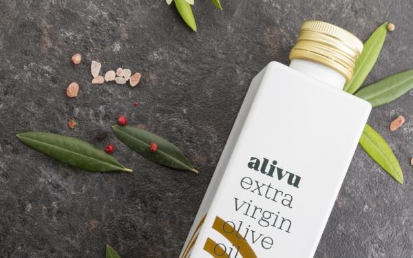 Alivu EVOO Packaging