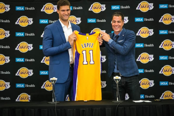 Lakers News: Brook Lopez Comes In At No. 51 In ESPN's #NBArank