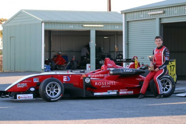 Is this the next Daniel Ricciardo? Perth teen follows tracks of F1 idol