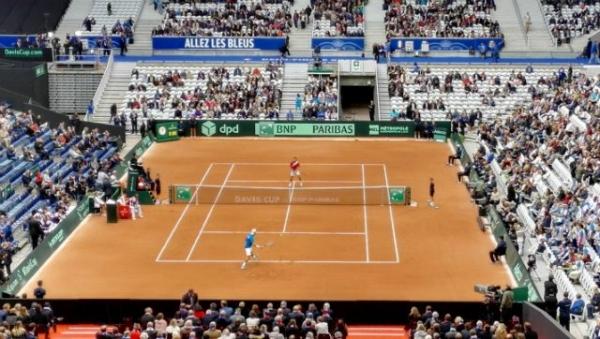 My Davis Cup weekend: France vs Serbia