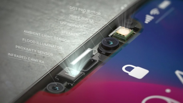 iPhone X basically has a Kinect on the front to enable FaceID
