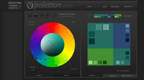 12 Best Color Scheme Generator Webapps For Designers