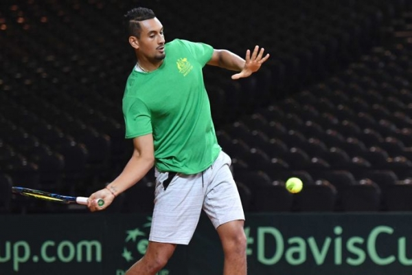 Davis Cup helps Kyrgios 'find the love again'