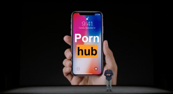 Pornhub stats reveal Apple fans went nuts for the iPhone X