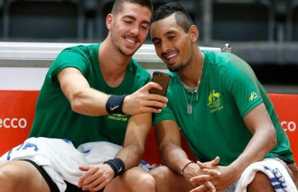 Davis Cup: Aussies inspired by team spirit